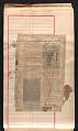 View Alexander Calder scrapbook of press clippings digital asset: page 44