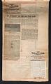 View Alexander Calder scrapbook of press clippings digital asset: page 59