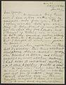 View Alexander Calder letter to George Thomson digital asset number 0