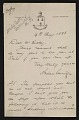 View Andrew Carnegie, Dornoch, Scotland letter to John Wesley Beatty, Pittsburgh, Pa. digital asset number 0