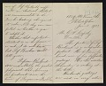 View Thomas Eakins, Philadelphia, Pa. letter to Caroline Stuyvesant Lapsley, Pittsburgh, Pa. digital asset number 1