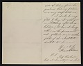 View Thomas Eakins, Philadelphia, Pa. letter to Caroline Stuyvesant Lapsley, Pittsburgh, Pa. digital asset number 3