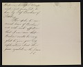 View Thomas Eakins, Philadelphia, Pa. letter to Caroline Stuyvesant Lapsley, Pittsburgh, Pa. digital asset number 4