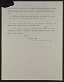 View Copy of George de Forest Brush, New York, N.Y. letter to Helen Beatty, Pittsburgh, Pa. digital asset number 1