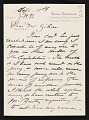 View Mary Cassatt letter to Albert Dakin Gihon digital asset number 0