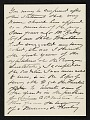 View Mary Cassatt letter to Albert Dakin Gihon digital asset number 1