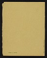 View Exhibition of works by Elihu Vedder digital asset: cover back