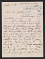 View Mary Cassatt letter to John Wesley Beatty digital asset number 0
