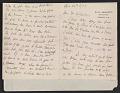 View Mary Cassatt letter to Homer Saint-Gaudens digital asset number 0