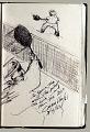 View Sketchbook of Ramón Carulla 1980 digital asset: sketch 28