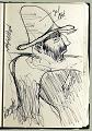 View Sketchbook of Ramón Carulla 1980 digital asset: sketch 34