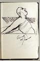 View Sketchbook of Ramón Carulla 1980 digital asset: sketch 37