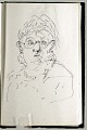 View Sketchbook of Ramón Carulla 1980 digital asset: sketch 54