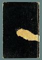 View Sketchbook of Ramón Carulla 1980 digital asset: cover back