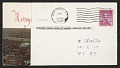 View Lenore Tawney, New York, N.Y. christmas card to Maryette Charlton, New York, N.Y. digital asset: verso