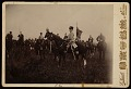 View Kaiser Wilhelm on horseback with cigarette, during army manoeuvres digital asset number 0