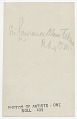 View Lawrence Alma-Tadema digital asset: verso