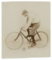 View Lyonel Feininger on a bicycle digital asset number 0