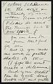 View Alexander Calder to Agnes Rindge Claflin digital asset: page 6