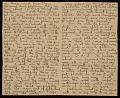 View Alson Skinner Clark letter to Amelia 'Mela' Baker digital asset number 1