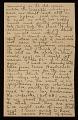 View Alson Skinner Clark letter to Amelia 'Mela' Baker digital asset number 2