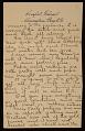 View Alson Skinner Clark letter to Amelia 'Mela' Baker digital asset number 3
