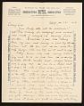 View Alson Skinner Clark letter to Medora Clark digital asset number 0