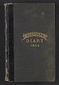 View Alson Skinner Clark diary digital asset: cover