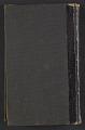 View Alson Skinner Clark diary digital asset: cover back