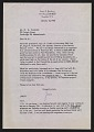 View James N. Rosenberg, Scarsdale, N.Y. letter to W.G. Constable, Cambridge, Massachusetts digital asset number 0