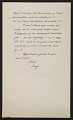 View George L. Stout letter to W. G. Constable digital asset: verso