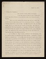 View Edward Warren letter to Frank Gair Macomber, Boston, Mass. digital asset number 0