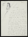 View Dorothea Tanning to Joseph Cornell digital asset number 0