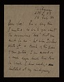 View Robert Motherwell letter to Joseph Cornell digital asset number 0