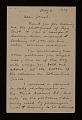 View Rudy Burckhardt letter to Joseph Cornell digital asset number 0