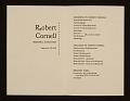 View Robert Cornell Memorial Exhibition digital asset number 1