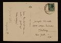 View Peiro Dorazio postcard to Joseph Cornell digital asset number 1