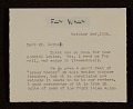 View Fay Wray letter to Joseph Cornell digital asset number 0