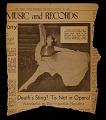 View Toumanova ballet scrapbook digital asset number 4