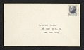 View Joseph Cornell, Flushing, N.Y. letter to Marcel Duchamp, New York, N.Y. digital asset: envelope