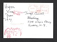 View John Lennon and Yoko Ono Christmas card to Joseph Cornell digital asset number 1