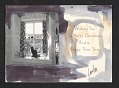 View Carolee Schneemann Christmas card to Joseph Cornell digital asset number 1