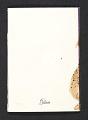 View Carolee Schneemann Christmas card to Joseph Cornell digital asset number 2