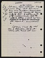 View Draft of condolence letter from Joseph Cornell to Teeny Duchamp digital asset: page 1