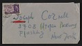 View Roberto Matta letter to Joseph Cornell digital asset: envelope