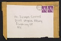 View Lee Bontecou, New York, N.Y. item to Joseph Cornell, Flushing, N.Y. digital asset: envelope