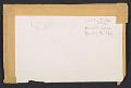 View Lee Bontecou, New York, N.Y. item to Joseph Cornell, Flushing, N.Y. digital asset: envelope verso