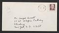 View Aaron Siskind letter to Joseph Cornell digital asset: envelope