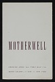 View Kootz Gallery catalog for <em>Motherwell</em> exhibit digital asset: cover