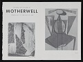 View Kootz Gallery catalog for exhibition <em>Paintings and collages by Motherwell</em> digital asset: pages 2